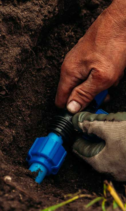 Yard By Yard Makeovers LLC Irrigation Installation