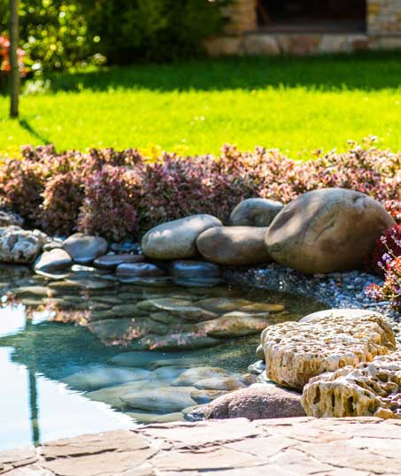 Yard By Yard Makeovers LLC Residential Water Features